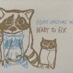 Point Juncture, WA, Heart to Elk