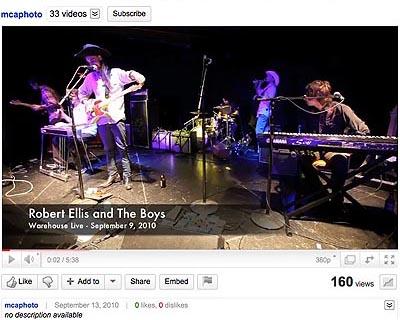 Robert Ellis and The Boys